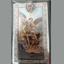 Picture of Prayer card and medal – Saint Michael the Archangel