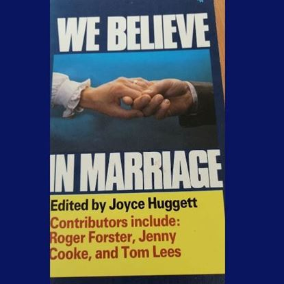 Picture of We believe in Marriage