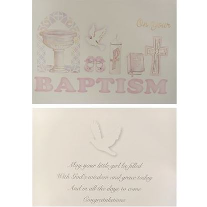 Picture of Baptism Girl