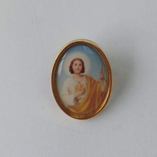 Picture of Saint Jude pin badge