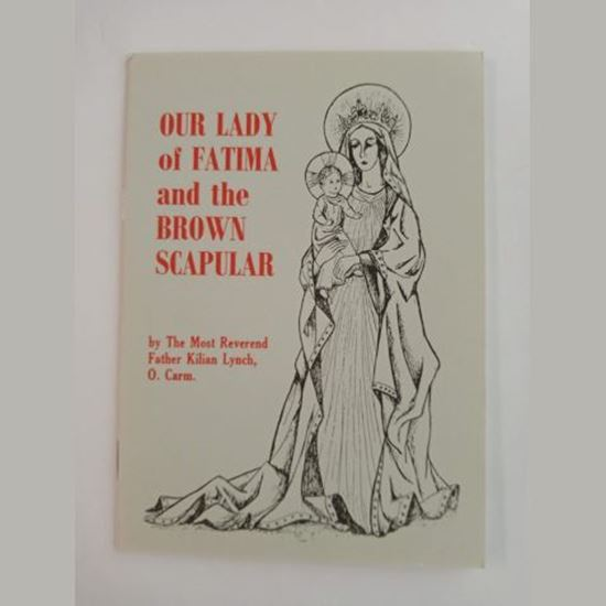 Picture of Our Lady of Fatima and the Brown Scapular