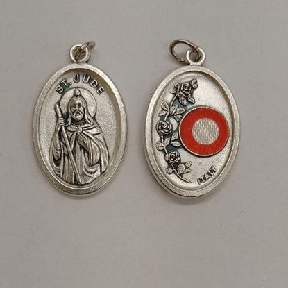 Picture of Saint Jude relic medal