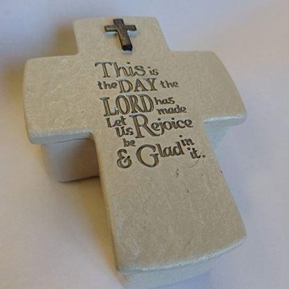 Picture of Cross keepsake box
