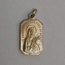 Picture of Medal of Saint Thérèse of Lisieux - Silver Finish