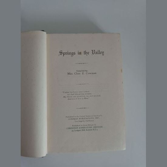 Picture of Spring in the Valley (hardback)