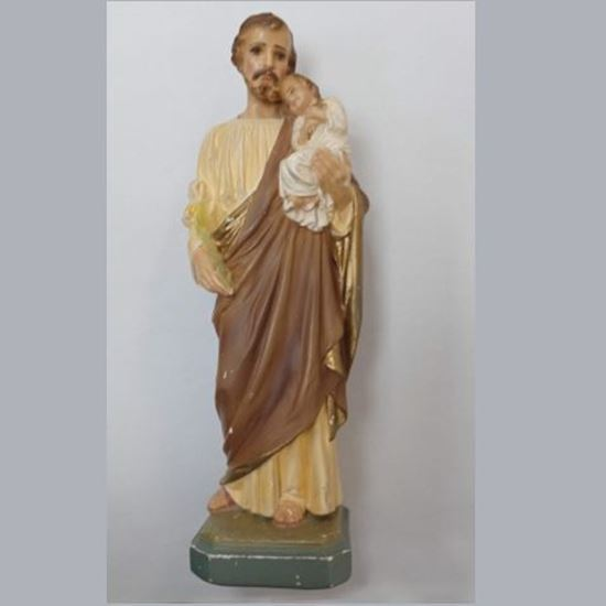 Picture of Vintage Statue of Saint Joseph and Child